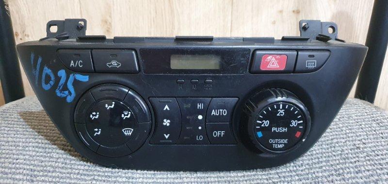 Блок управления климат-контролем Toyota Rav4 ZCA26W 1ZZ-FE