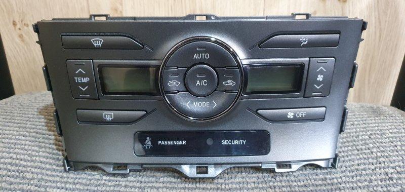 Блок управления климат-контролем Toyota Auris ZRE154H 2ZR-FE 2006 4970