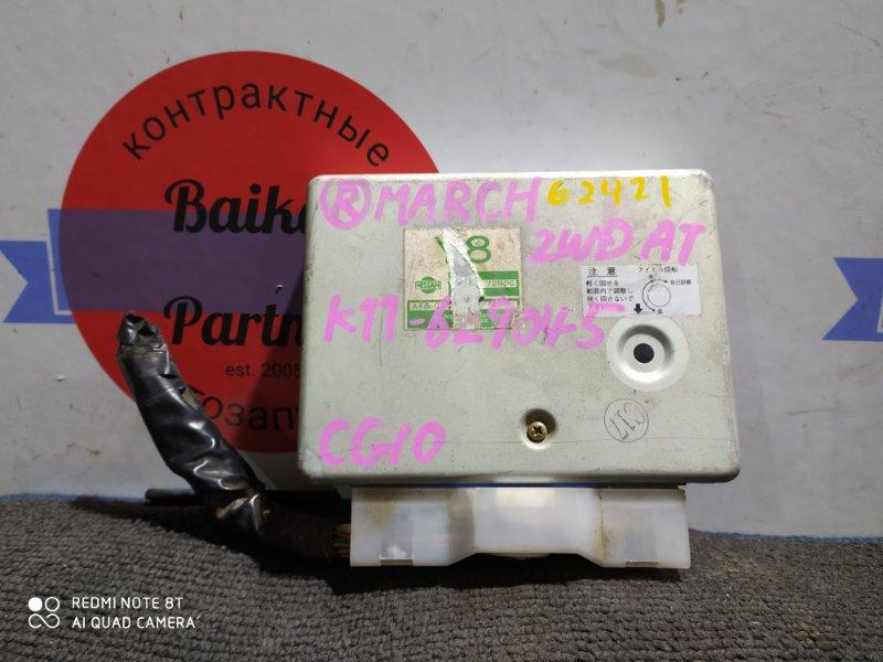 Блок управления двс Nissan March K11 CG10DE 23710 72B06
