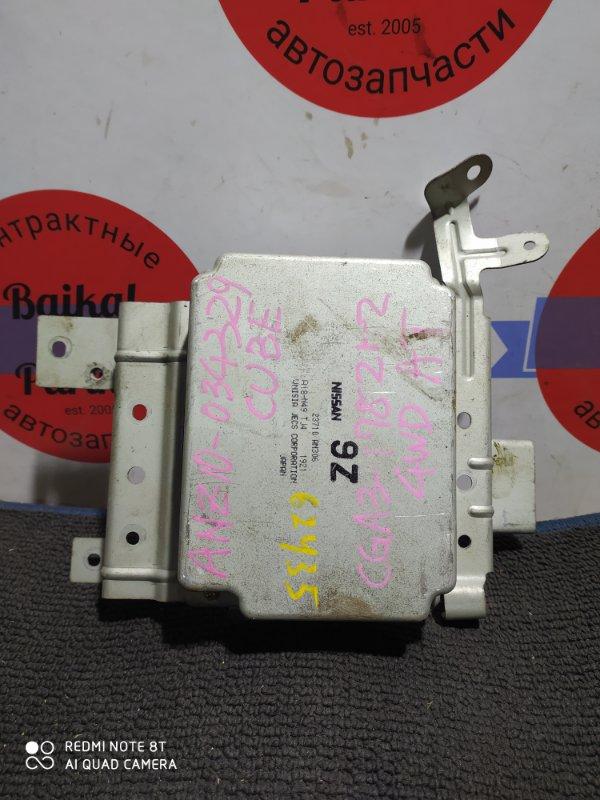 Блок управления двс Nissan Cube ANZ10 CGA3DE 23710 AN306