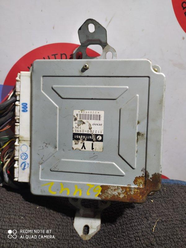 Блок управления двс Subaru Legacy BE5 EJ20 2611AG451