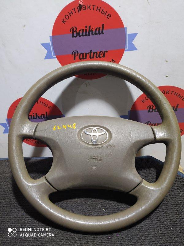 Руль Toyota Corolla Spacio NZE121N 1NZ-FE