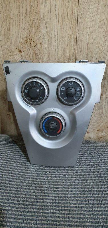 Блок управления климат-контролем Toyota Belta KSP92 1KR-FE 2005