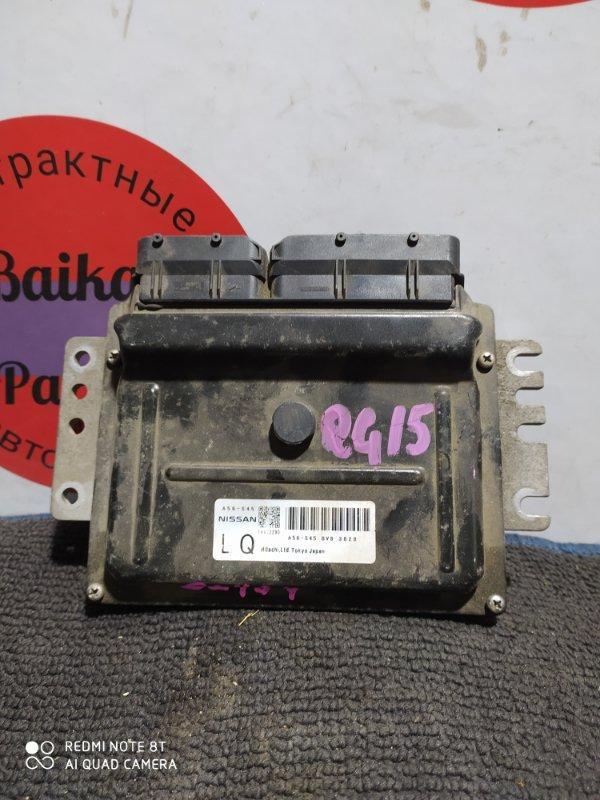 Блок управления двс Nissan Sunny FB15 QG15DE A56-S45