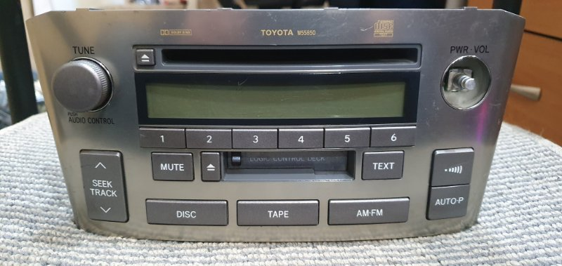 Магнитофон Toyota Avensis AZT250W 1AZ-FSE 2004