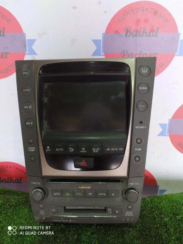 Блок управления климат-контролем Lexus Gs450H GWS191 2GR-FSE 2006
