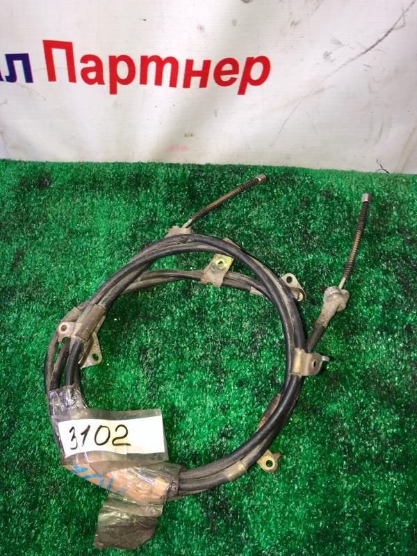 Тросик ручника Toyota Passo KGC10 1KR-FE задний левый 3102