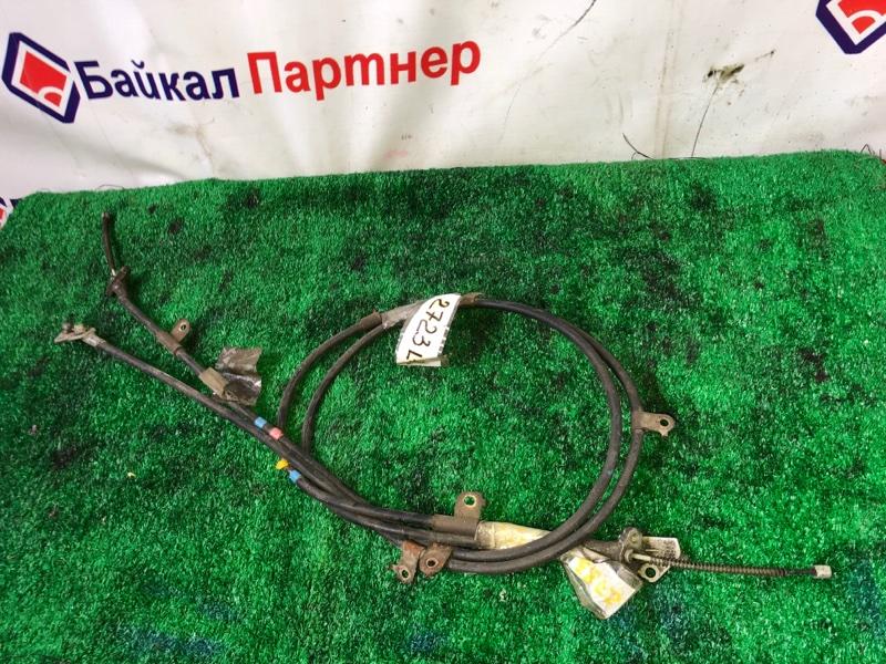 Тросик ручника Toyota Passo KGC10 1KR-FE задний левый 2723