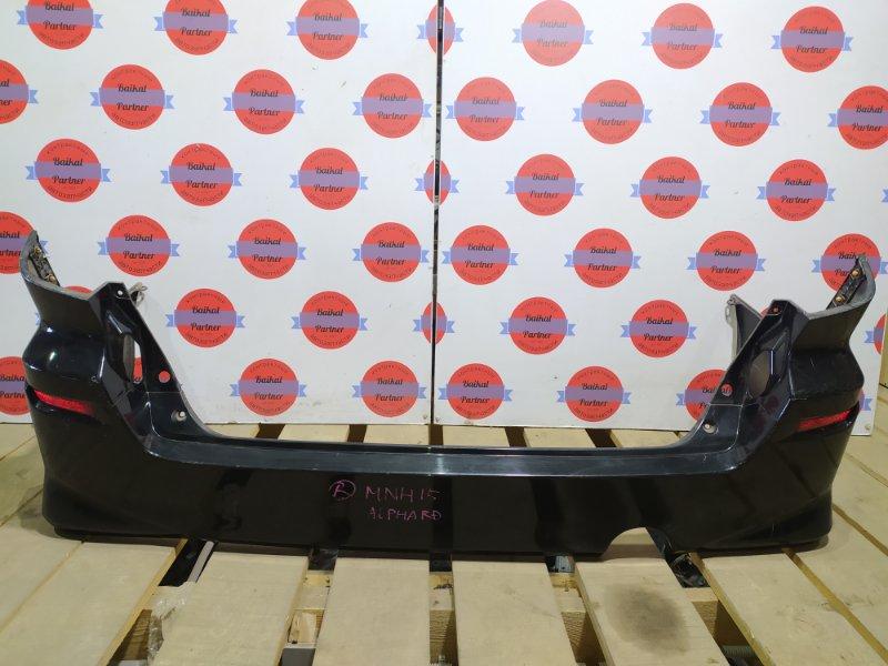 Бампер Toyota Alphard MNH15 1MZ-FE задний
