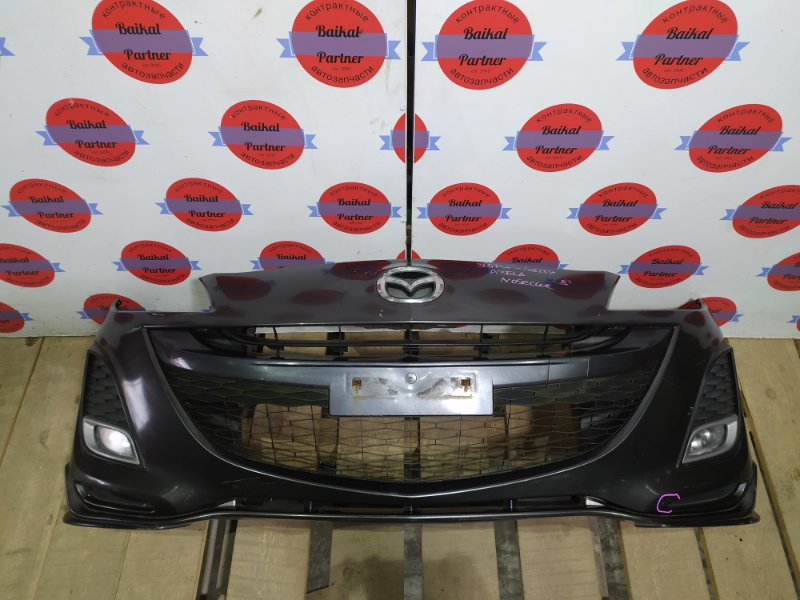 Бампер Mazda Axela BL5FW ZY-VE передний