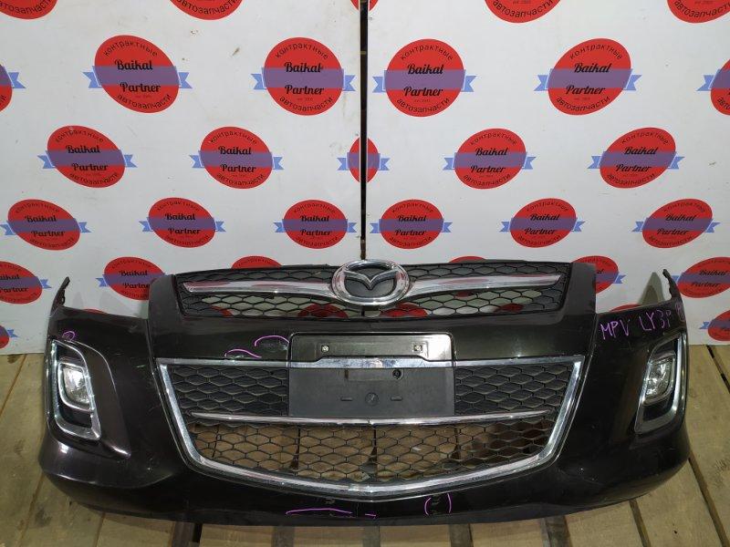 Бампер Mazda Mpv LY3P L3-VE передний