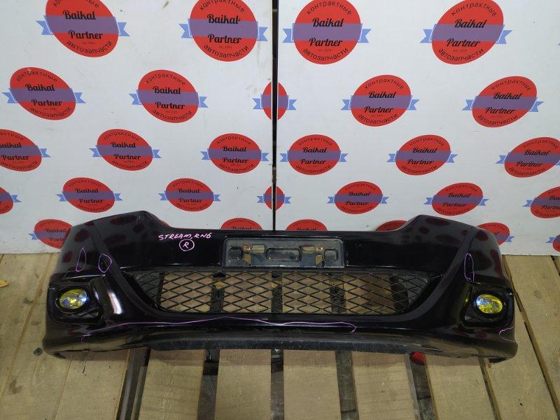 Бампер Honda Stream RN6 R18A 2012 передний