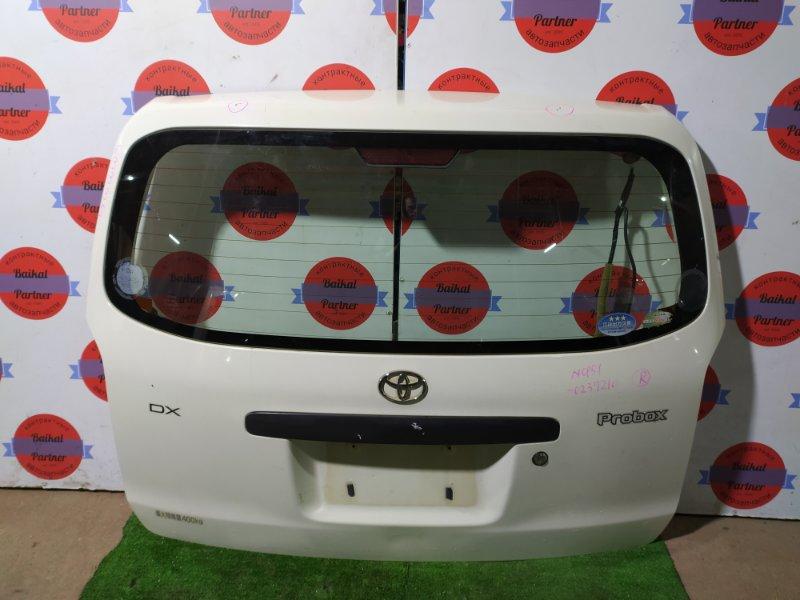 Дверь 5-я Toyota Probox NCP51 1NZ-FE