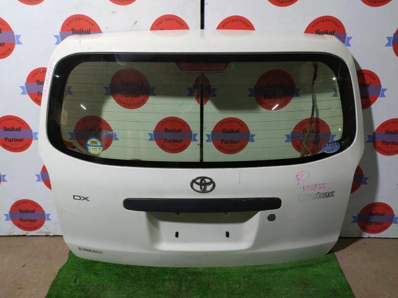 Дверь 5-я Toyota Probox NCP55V 1NZ-FE