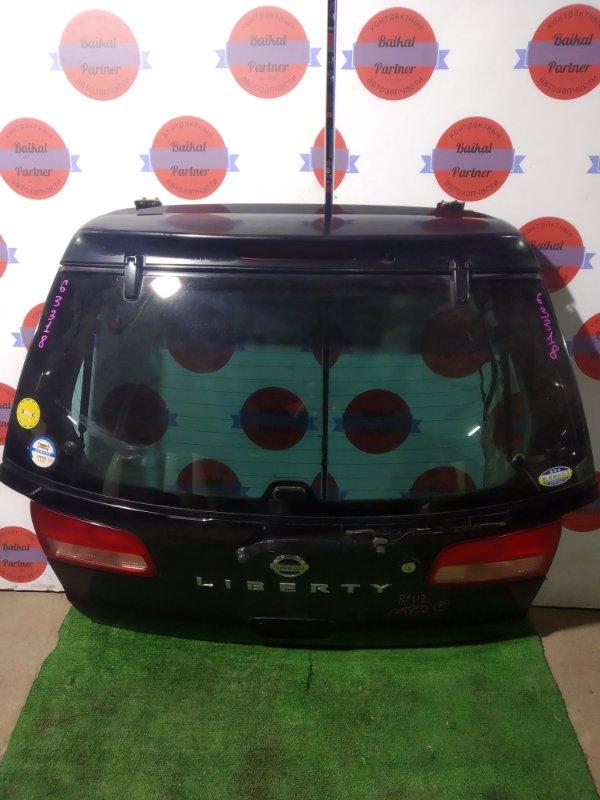Дверь 5-я Nissan Liberty RM12 QR20DE задняя