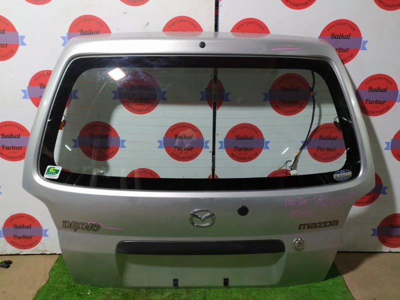 Дверь 5-я Mazda Demio DW3W B3E 2002