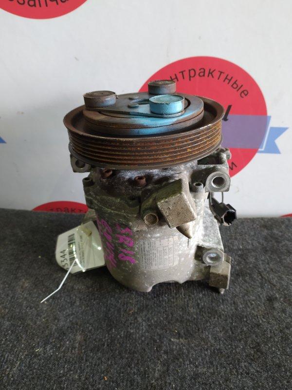Компрессор кондиционера Nissan Bluebird ENU14 SR18DE 2000