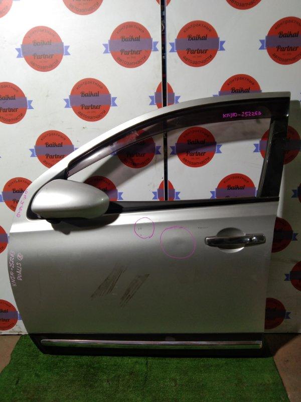 Дверь Nissan Dualis (Qashqai) KNJ10 MR20DE передняя левая