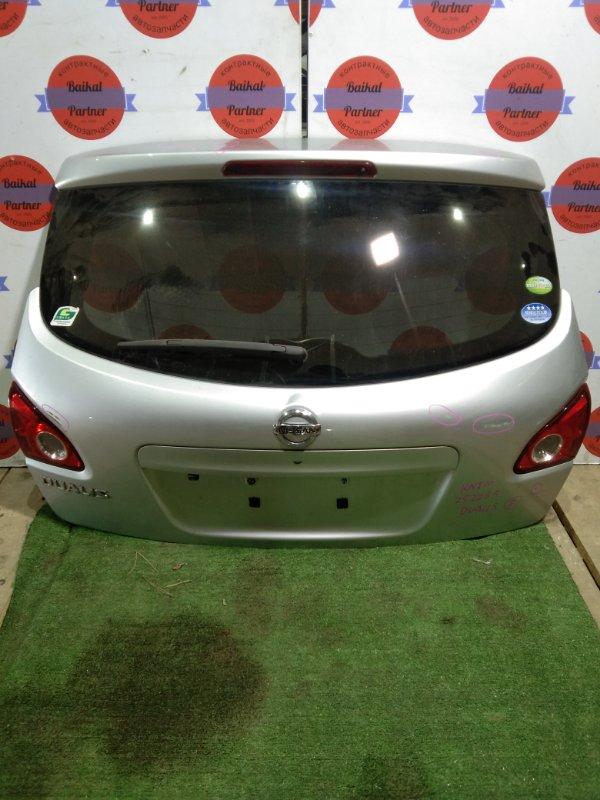 Дверь 5-я Nissan Qashqai KNJ10 MR20DE задняя