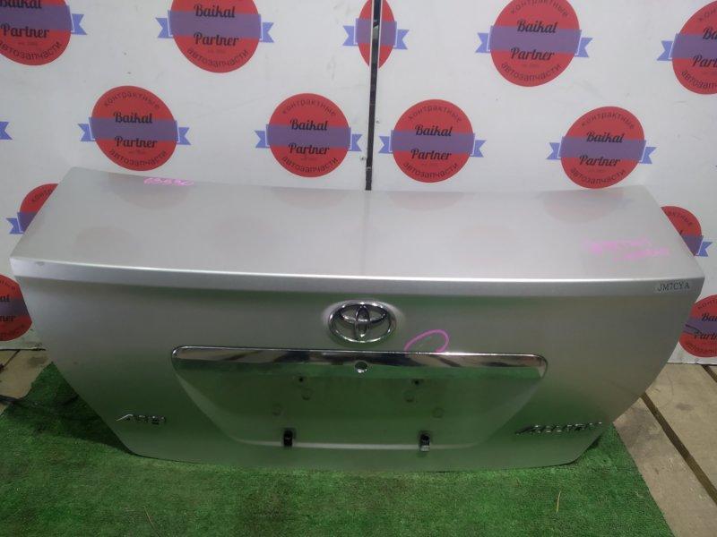 Крышка багажника Toyota Allion ZZT245 1ZZ-FE задняя