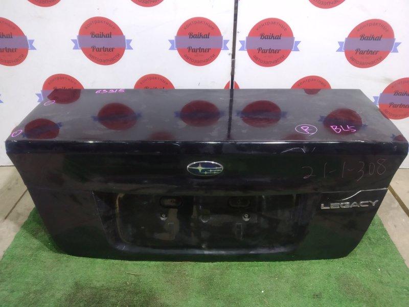Крышка багажника Subaru Legacy BL5 EJ20 задняя