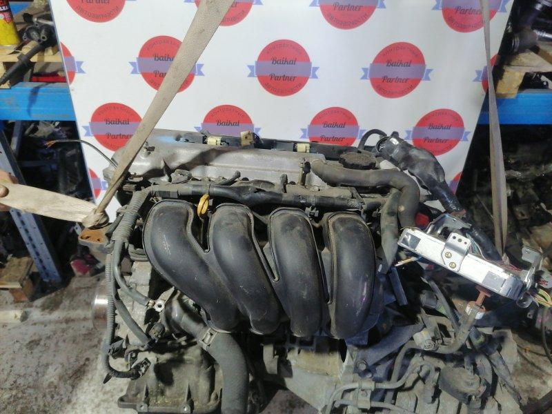 Двигатель Toyota Corolla Spacio ZZE122N 1ZZ-FE 2001