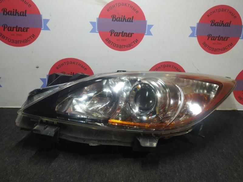 Фара Mazda Axela BL5FW ZY-VE передняя левая 100-41343