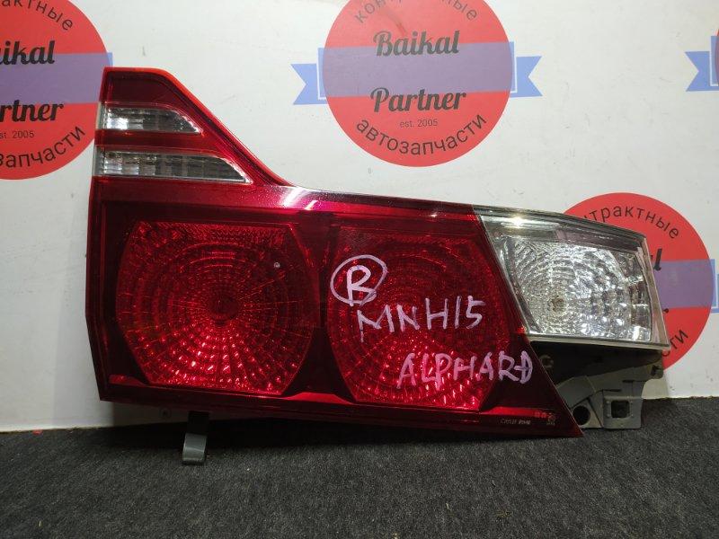 Стоп Toyota Alphar MNH15 1MZ-FE задний левый 58-19