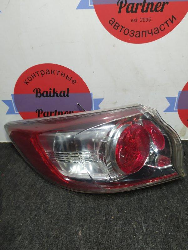 Стоп Mazda Axela BL5FW ZY-VE задний левый 82-39