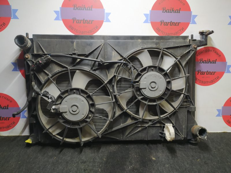 Радиатор двс Toyota Isis ZGM15G 2ZR-FAE 2011