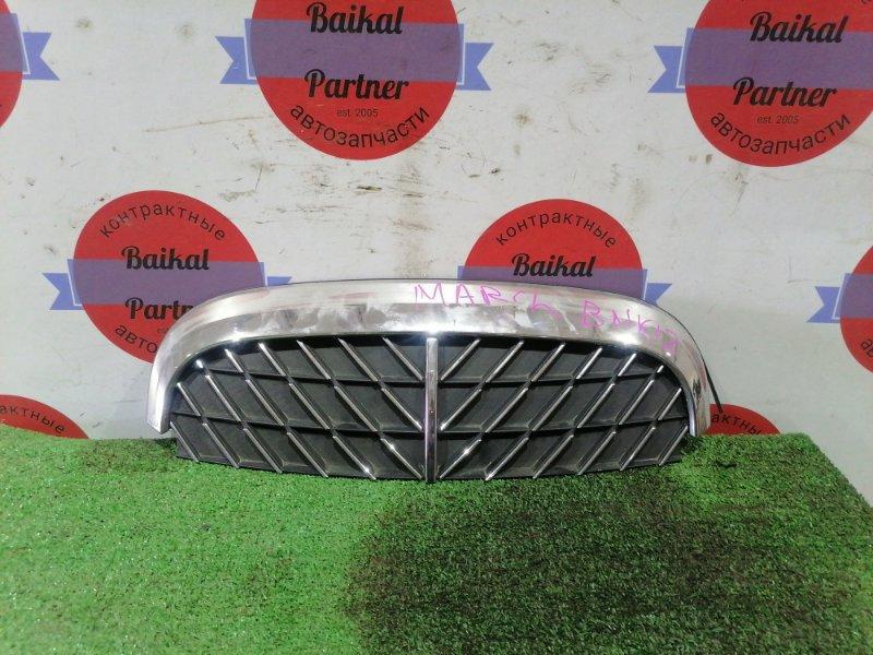 Решетка радиатора Nissan March BNK12