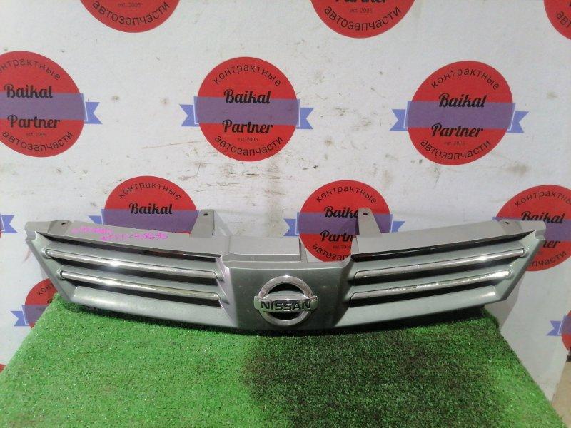 Решетка радиатора Nissan Wingroad WFY11 2003