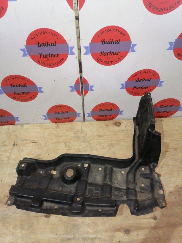 Защита двс пластик Toyota Vitz KSP90 1KR-FE передняя левая