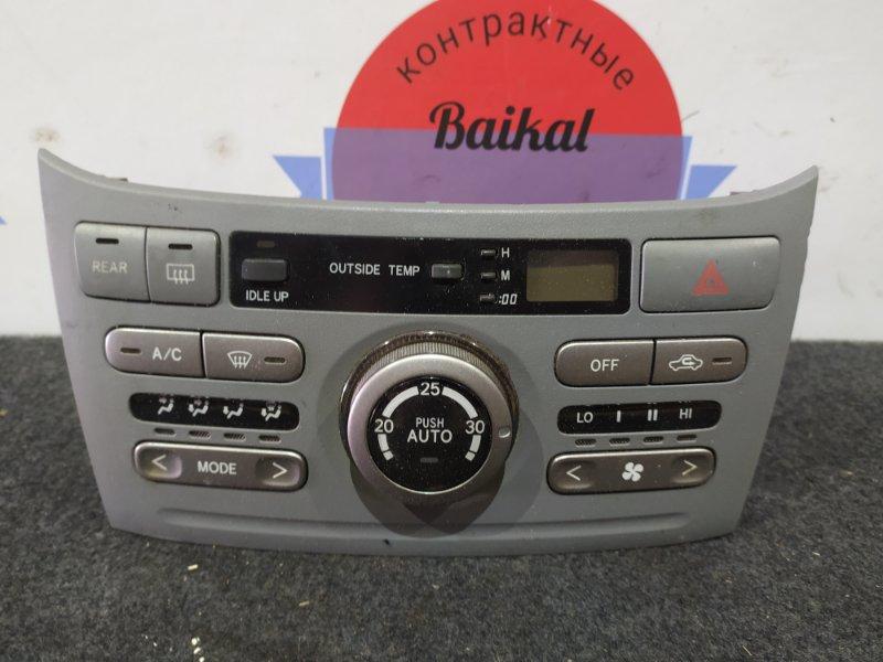 Блок управления климат-контролем Toyota Noah AZR65 1AZ-FSE
