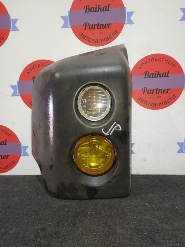 Клык бампера Mitsubishi Pajero Mini H58A 4A30 передний правый 210-87339
