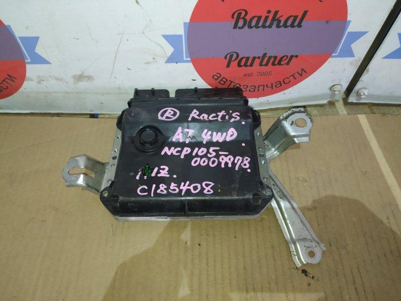 Блок управления двс Toyota Ractis NCP105 1NZ