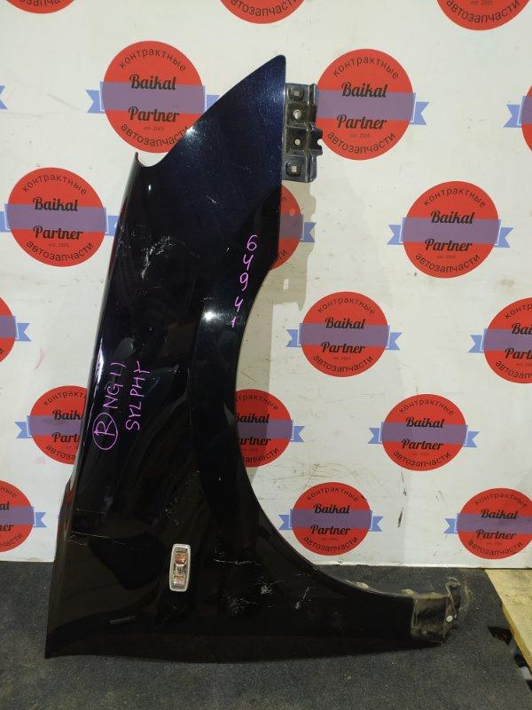 Крыло Nissan Bluebird Sylphy KG11 QG18 переднее правое