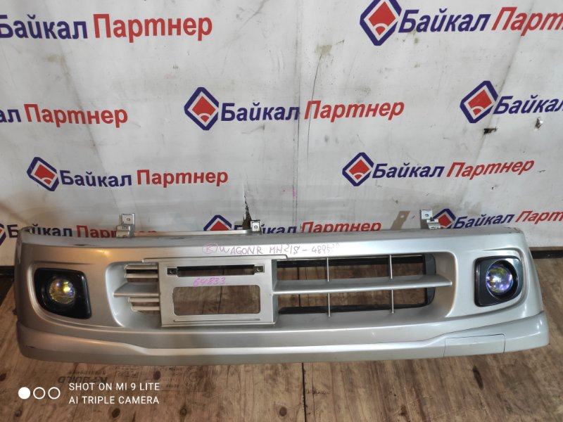 Бампер Suzuki Wagon R MH21S K6A 2006 передний