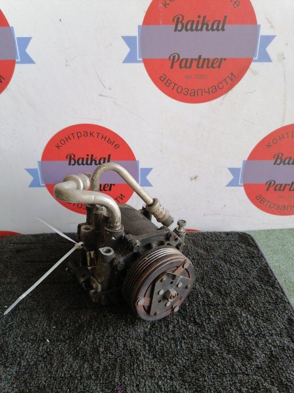Компрессор кондиционера Mitsubishi Pajero Mini H58A 4A30 MSC60CH