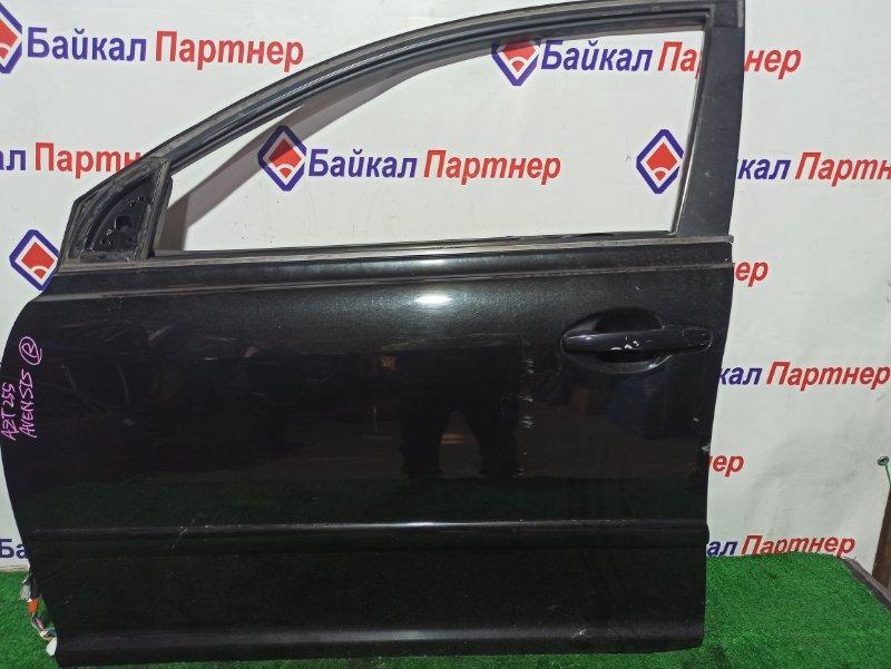 Дверь Toyota Avensis AZT255 1AZ-FSE 2003 передняя левая
