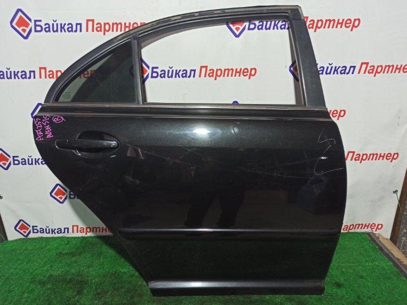 Дверь Toyota Avensis AZT255 1AZ-FSE 2003 задняя правая