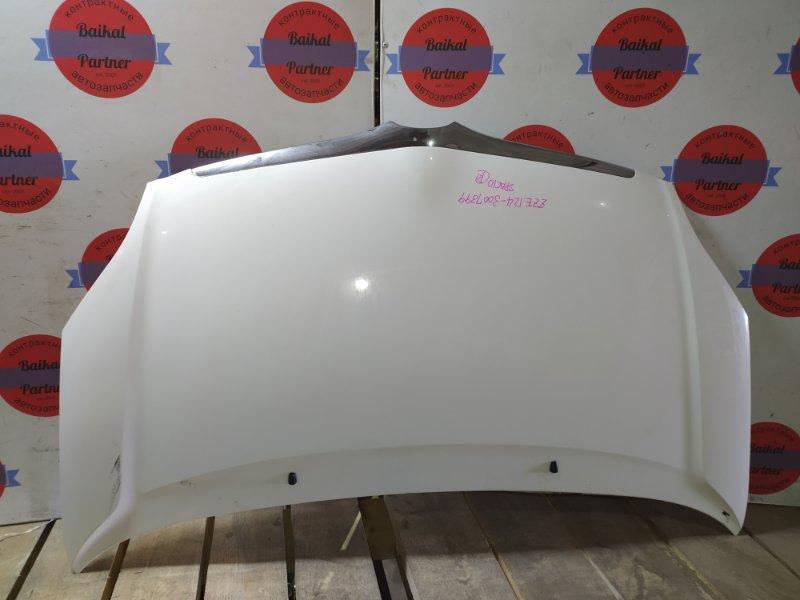 Капот Toyota Corolla Spacio ZZE124 1ZZ-FE 2002