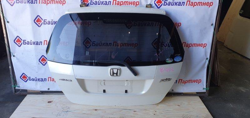 Дверь 5-я Honda Fit GD2 L13A 2003 задняя