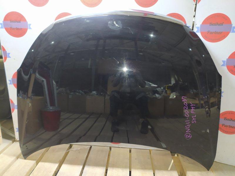 Капот Nissan Bluebird Sylphy NG11