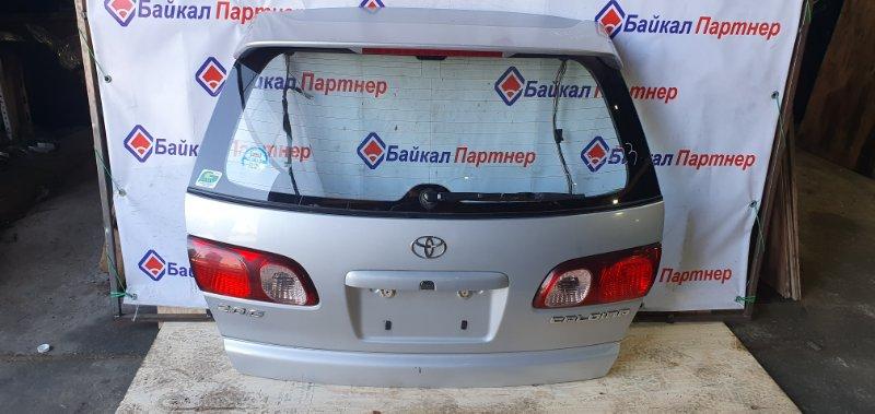 Дверь 5-я Toyota Caldina ST210G 3S-FE 2000 задняя