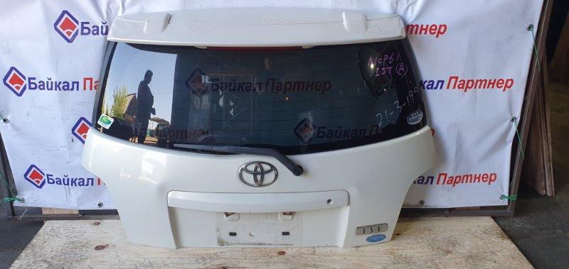 Дверь 5-я Toyota Ist NCP61 1NZ-FE 2004 задняя
