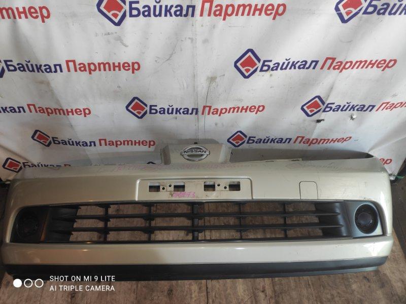 Бампер Nissan Tiida Latio SNC11 2006 передний