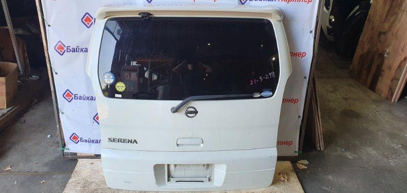 Дверь 5-я Nissan Serena TNC24 QR20DE 2003 задняя