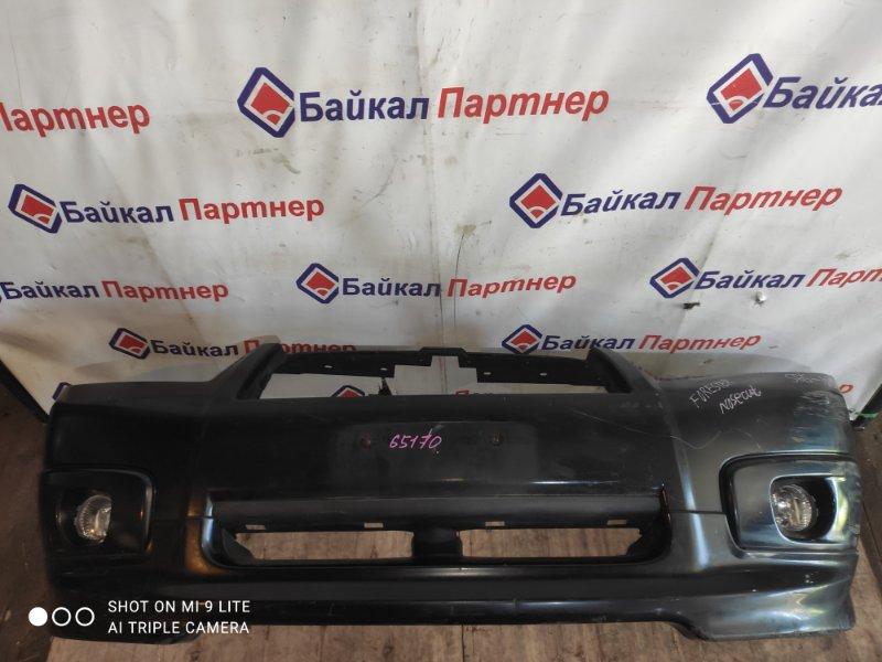 Бампер Subaru Forester SG5 2005 передний
