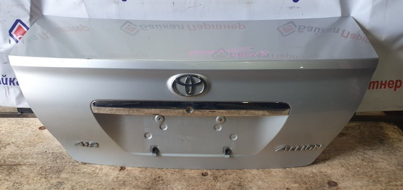 Крышка багажника Toyota Allion ZZT240 1ZZ-FE 2005 задняя